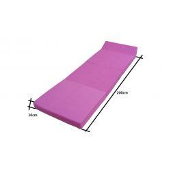Folding mattress 195x65x8 cm -1224