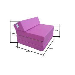Folding mattress 195x65x10 cm - 1224