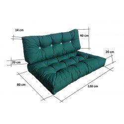 Fold Out Sofa Cover 200 cm x 120 cm x 10 cm- 1331