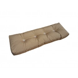 Back part of Pallet Cushion light brown