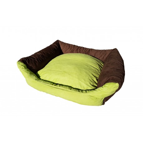 Dog bed Max- size S - brown/green