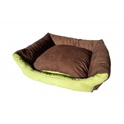 Dog bed Max- size M - brown/green