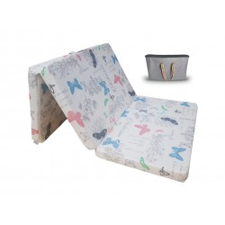 Travel mattress with carry bag 120 x 60 cm - GLORY