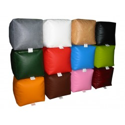 Beanbag Chair Cover Little Point - Red