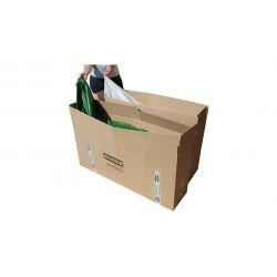 Beanbag Chair Cover Little Point - Orange